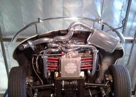 2332cc combo with T3 turbo, TP350 carb and cut-out to muffler!